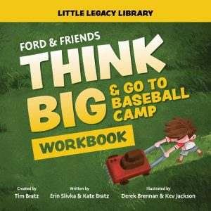 Think Big and Go To Baseball Camp Workbook - cover