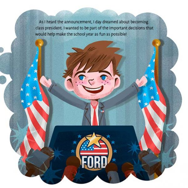 Ford & Friends: How to Win Class President and Influence Peers sample page